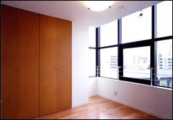 実績例 駅南ビル2 住宅寝室