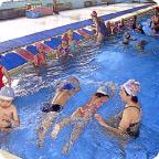 水泳レッスン風景